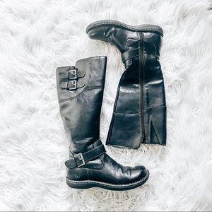 Born boc black riding boots